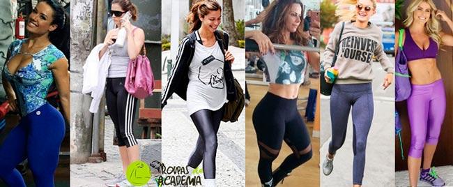 Calças Legging Fitness 2017
