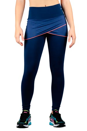 Calças Legging Fitness com saia